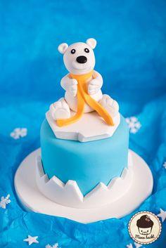 Icebear Cake Eisbär Kuchen Teddy Cake