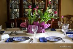 My Kentucky Living : Mothers Luncheon: Table Setting with Spode