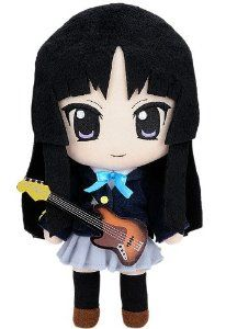 "Nendoroid Plus K-ON!! Plush ""Mio"" Winter Uniform Ver."