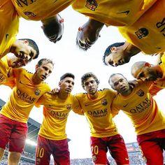 One heart. One love. One team. Barca!!