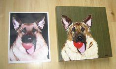 Chigirie ( Torn Paper )  Custom Pet Portrait  by RobinPanzerArt,