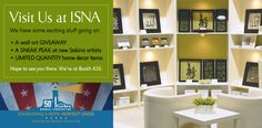 We are going to ISNA this year. Hope to meet some new friends there.