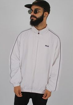 Vintage Fila Shell Jacket