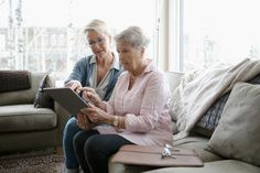 Daughter helping senior mother using digital tablet - Buy this stock photo and explore similar images at Adobe Stock What Happens If You, Shit Happens, Preparing For Retirement, Difficult Conversations, Aging Parents, Digital Tablet, Elderly Care, Take Care Of Me, Life Design