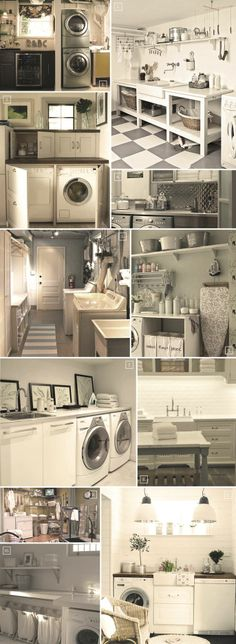 Design Ideas For That Perfect Basement Laundry Room