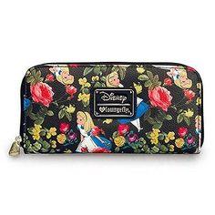 Wallet - Disney - Alice In Wonderland Floral Pebble Licensed wdwa0432