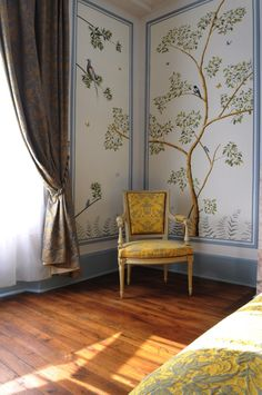 Snijder&CO Hand painted wallpaper Chambre Royale.jpg86