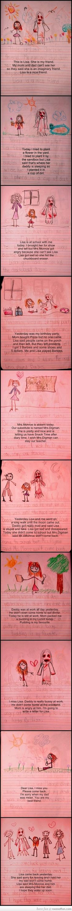 Creepiest. Diary. EVER!!!