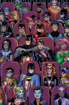 Amanda Conner's BATMAN variant, colored by Paul Mounts. This all comes ahead of the pending Batman/Catwoman nuptials Batgirl, Batman Und Catwoman, Batwoman, Catwoman Cosplay, Cosplay Gatúbela, Marvel Dc Comics, Dc Comics Art, Gotham Comics, Dc Comics Funny