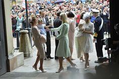 Swedish Prince Oscar's Christening Ceremony