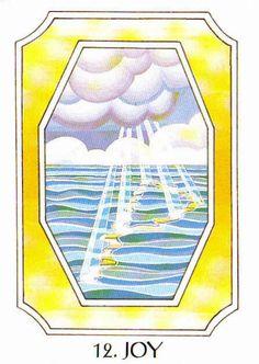 12. Joy (Wunjo) - Rune Cards by Ralph Blum Illustrated by Jane Walmsley