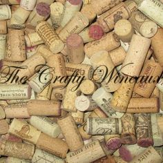 Just sold! Try your own #Wine #Cork #Crafts! Sold by #thecraftywineaux. Also on http://thecraftywineaux.com!