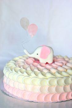 Tein jokunen kuukausi takaperin tämän kakun baby showereihin. Kyseisen juhlan jälkeen maailmaan saapui pieni tyttö ja sain ku... Pretty Cakes, Cute Cakes, Beautiful Cakes, Petal Cake, Soap Cake, Kids Carnival, Big Cakes, Kids Party Decorations, Cake Decorating Tips