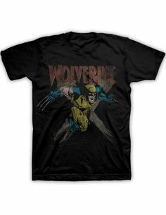 Marvel wolverine x men in charge t shirt sm med lg xl 2xl 7a12fbf33d7f