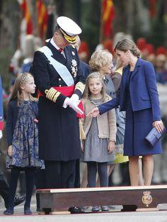 Así han vivido la princesa Leonor y la infanta Sofía el desfile - Foto 3