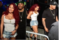 MTO SHOCK DRAMA!!! Rapper Nelly's Battle With His EX-FRIEND Get WORSE . . . Dude Just LEAKED NEKKID PICS . . . Of Nelly's Girlfriend . . . From BEFORE She Had PLASTIC SURGERY!!!