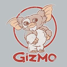 """""""Whatever you do, don't spill food on this shirt and then wash it after midnight."""" Cartoon Tv, Cartoon Drawings, Gremlins Gizmo, Arte Horror, Movie Poster Art, Monster, Cute Art, Creepy, Graffiti"""