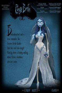 Tim Burton's Corpse Bride | Feature Film Figures | Corpse Bride