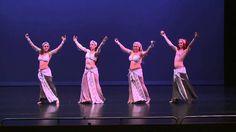 Pomegranate Vibrato, fusion belly dance performance.