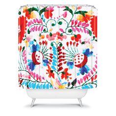 DENY Designs Home Accessories | Deb Haugen Mexican Surf Trip Shower Curtain