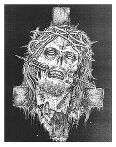 No ! ... I said hands, through the hands !! .Art by Mark Riddick
