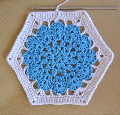 Hi there,            some of you have been waiting/hoping for some time for me to write down the pattern of the hexagons I have been w...