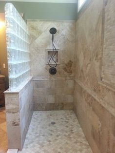 Glass Block Bathroom Ideas inside the glass block shower spa quality design is grounding and