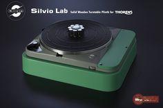 Mono and Stereo High-End Audio Magazine: Silvio Lab Solid Wood THORENS 124 turntable plinth NEW