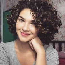 Image result for short curly hairstyles for women caucasian