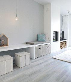 Kast gemaakt van betonblokken huis idee n pinterest foto 39 s - Glazen hoofdbord ...