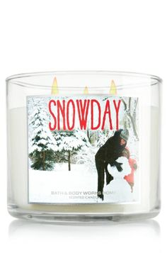 Snow Day: A bright and joyful blend of spruce branches, peppermint and sweet vanilla that captures the fun adventures of a snow-filled day **This candle takes me back to one of my very first candles! Pine & Peppermint