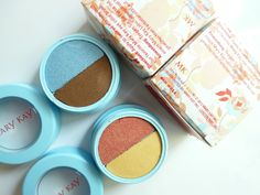 "Springy eye duo #072014 ""Stonewashed"" & #072015 ""Summer sunset"" . Mary Kay. / Муссовые тени-дуэт для век."
