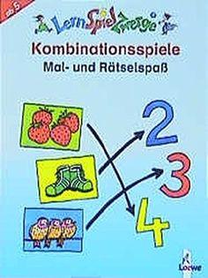 Kombinationsspiele: Mal- und Rätselspaß (LernSpielZwerge - Mal- und Rätselblocks) - http://autowerkzeugekaufen.de/loewe-verlag-gmbh/kombinationsspiele-mal-und-raetselspass-mal-und