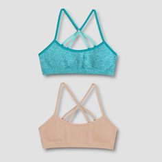 e19ba33801 Fruit of the Loom A Fresh Collection Juniors Perfect Racer Back Bra ...