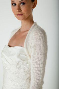 For winter wedding: consider this Wedding Shrug Angora. €105.00, via Etsy.