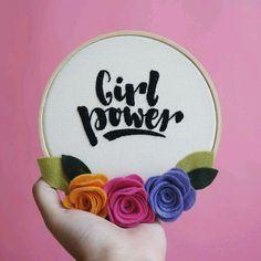 Bastidor Girl Power