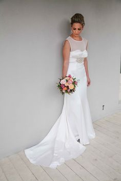 ella moda brides | Davinia in ANABEL http://ellamodabrides.blogspot.com.au/