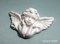 Chalk Angel white suitable for decorations  di PyrosePatch su Etsy