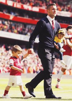 Jack Wilshere, Archie, and Delilah