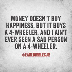 Aww how true, this was us today riding along on the dirt roads to the trails in our neighborhood!! ❤️