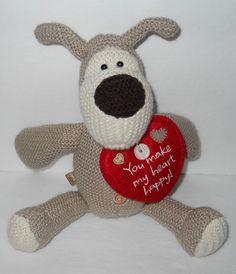 "American Greetings Boofle Puppy Dog You Make My Heart Happy Stuffed Plush 8"" #Hallmark #Love"