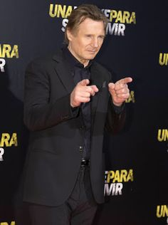 Liam Neeson just joking that mystery girlfriend but was he?