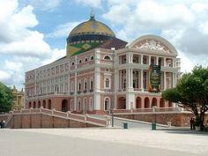 Teatro Amazonas, um dos mais belos teatros do mundo e com a melhor acústica.