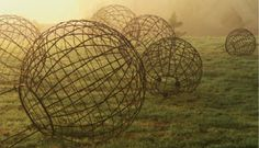 Spheres in the mist - Cleve West