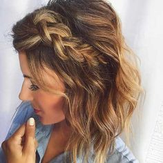 Chic Braided Short Hairstyles You Have to See | The Best Short Hairstyles for Women 2016