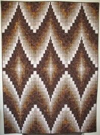 FREE PATTERN DOUBLE DIAMONDS BARGELLO QUILT BY EILEEN WRIGHT
