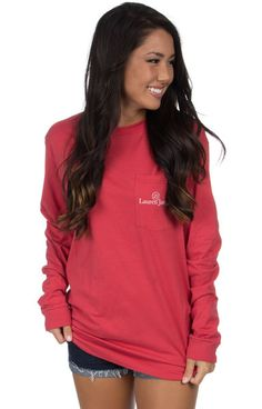 Burnt Red - ASAP - Long Sleeve Front