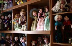 Тамара Примак більше 50 років створює оригінальні ляльки власноруч