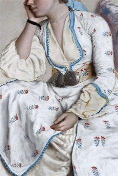 Marie van Fargues by Jean Etienne Liotard