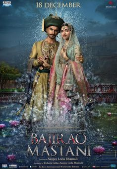 The makers of the upcoming Sanjay Leela Bhansali film Bajirao Mastani have released a new poster depicting the pure love between the characters of the film through actors Ranveer Singh and Deepika Padukone. Deepika Padukone, Deepika Ranveer, Ranveer Singh, Ranbir Kapoor, Bollywood Posters, Bollywood Cinema, Bollywood News, 2015 Movies, All Movies